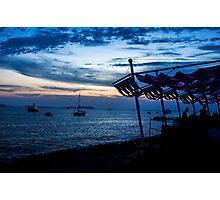Ibiza @ night Photographic Print