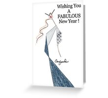 A Fabulous New Year Greeting Card