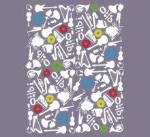 abstract music  Kids Tee