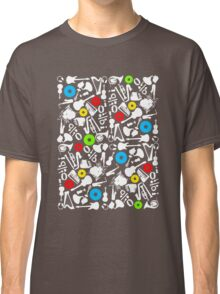 abstract music  Classic T-Shirt