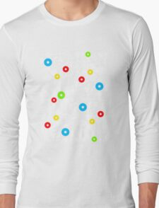 abstract music  Long Sleeve T-Shirt