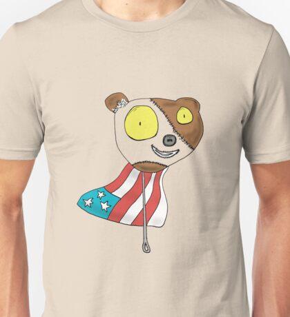 Cartoon Patchwork Pinhead Unisex T-Shirt