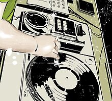 DJ! by RocketmanTees