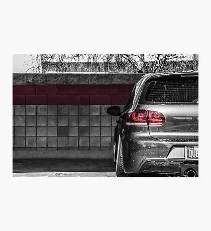 Volkswagen MK6 GTI Blackwhite Photographic Print