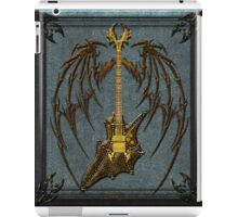 Vampir Skull Guitar Digital Art iPad Case/Skin