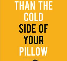 Cooler than your pillow by skumari