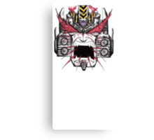Megatron REALLY Hates The Primes Canvas Print