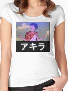 Tetsuo - Akira Women's Fitted Scoop T-Shirt