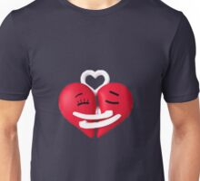 Hearts in love Unisex T-Shirt