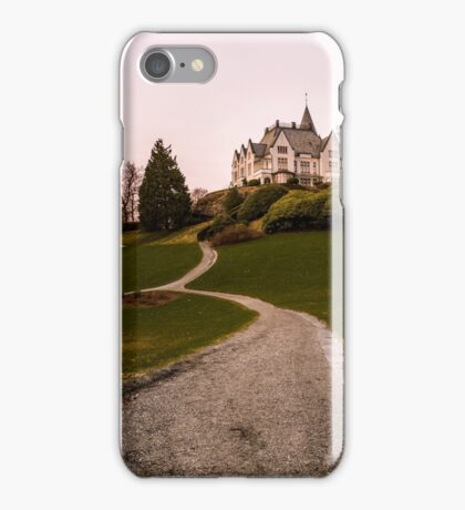 Gamlehaugen castle. Bergen, Norway. iPhone Case/Skin