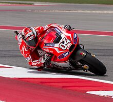 Andrea Dovizioso at Circuit Of The Americas 2014 by corsefoto