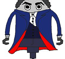 Peter Capaldi as The Doctor by Pogoshots