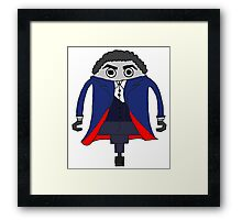 Peter Capaldi as The Doctor Framed Print