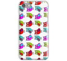Owl line iPhone Case/Skin