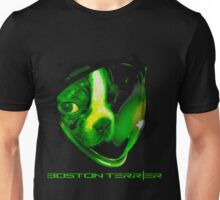 in space boston Unisex T-Shirt