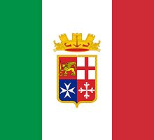 Naval Ensign of Italy by abbeyz71