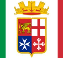 Naval Ensign of Italy Sticker