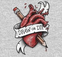 Draw or Die Kids Clothes
