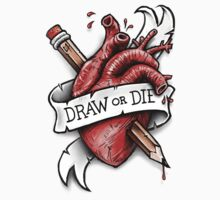 Draw or Die Kids Tee