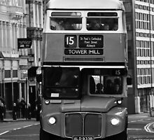 Double Decker black white by ReggieRamos