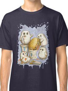 Supersize Me (blue) Classic T-Shirt