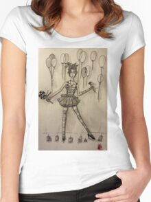 Dollface Women's Fitted Scoop T-Shirt