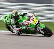 Alvaro Bautista at Circuit Of The Americas 2014 by corsefoto