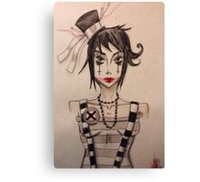 Dollface (2) Canvas Print