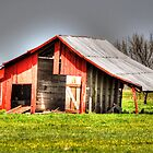 red barns by venny