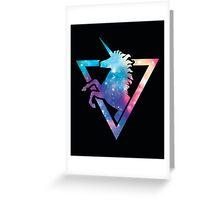 Galaxy Unicorn  Greeting Card