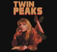 Laura Palmer like Mia Wallace - (Twin Peaks - Pulp Fiction parody) by evaparaiso