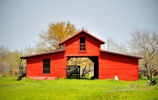 Red Barn by venny