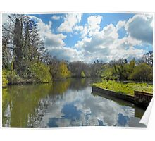The Mill Pond Poster