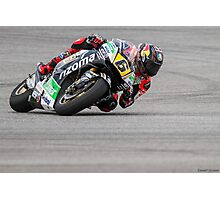 Stefan Bradl at Circuit Of The Americas 2014 Photographic Print