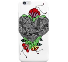Flower Heart  iPhone Case/Skin