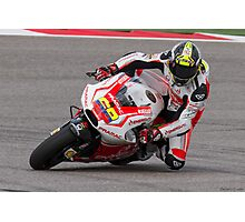 Yonny Hernandez at Circuit Of The Americas 2014 Photographic Print