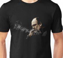 Tony Soprano Smoking A Sigar Unisex T-Shirt