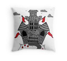 Castle Of Dreams  Throw Pillow