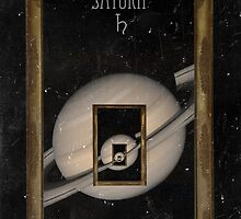 Saturn by Rayvh
