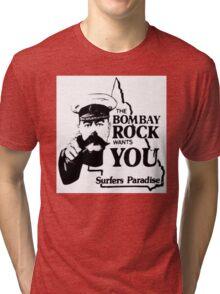 bombay rock  Tri-blend T-Shirt