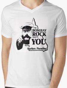 bombay rock  Mens V-Neck T-Shirt