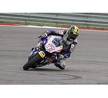 Karel Abraham at Circuit Of The Americas 2014 Photographic Print
