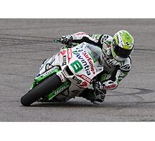 Hector Barbera at Circuit Of The Americas 2014 Photographic Print