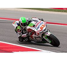 Mike Di Meglio at Circuit Of The Americas 2014 Photographic Print