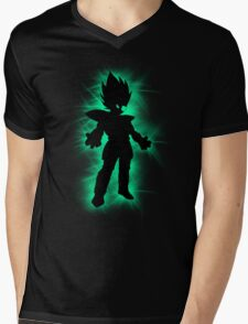 Vegeta Mens V-Neck T-Shirt