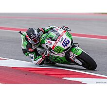 Scott Redding at Circuit Of The Americas 2014 Photographic Print