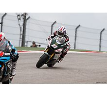 Broc Parkes at Circuit Of The Americas 2014 Photographic Print