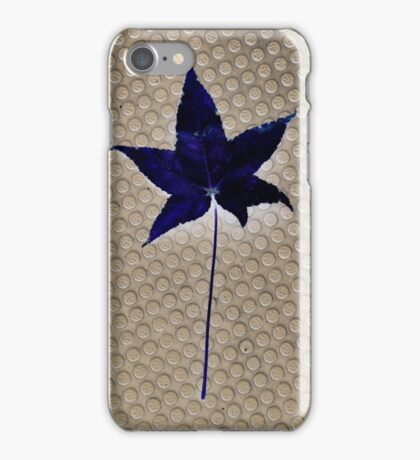 Blue. iPhone Case/Skin