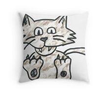 Cat Take 2 Throw Pillow