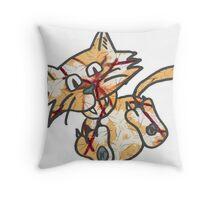 Cat Take 1 Throw Pillow